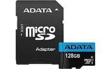 128GB ADATA MicroSDXC UHS-I 100/25MB/s + adapter