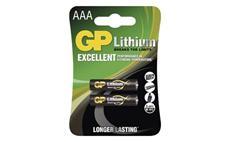 Baterie GP lithiová FR03 (AAA) 2 kusy