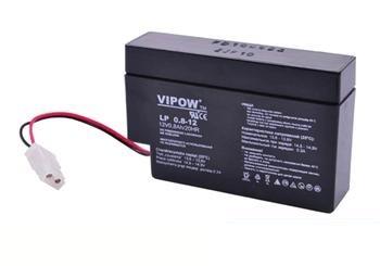 Baterie olověná  12V /  0,8Ah VIPOW bezúdržbový akumulátor