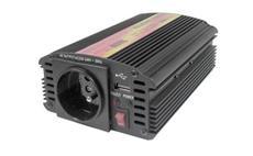 Carspa CAR300U 24V/230V 300W USB (mod. sin.)