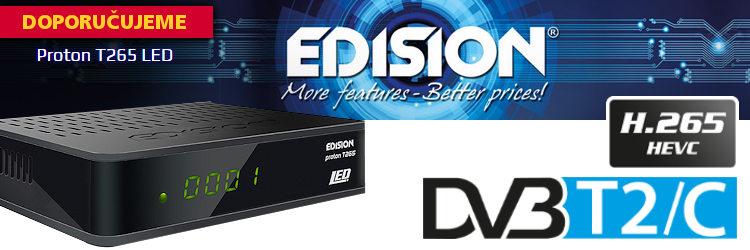 EDISION Proton DVB-T2 settopbox