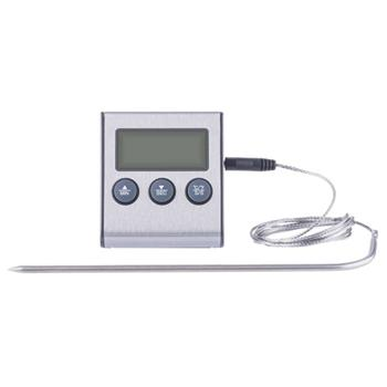 EMOS E2157 digitální grilovací teploměr a minutka