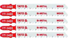 List do přímočaré pily 100 mm na dřevo TPI6 5 ks Bi-Metal